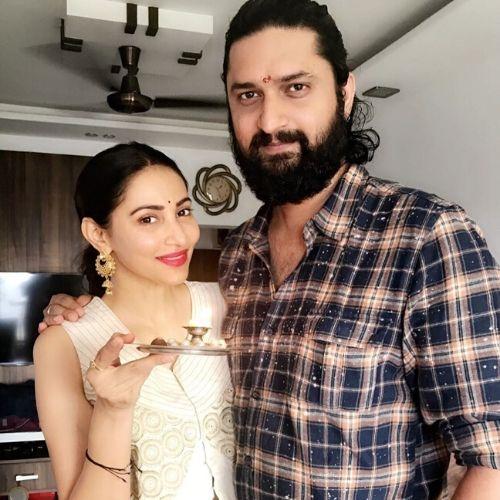 Rishina Kandhari with Brother