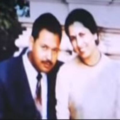 Anusha Mishra Parents