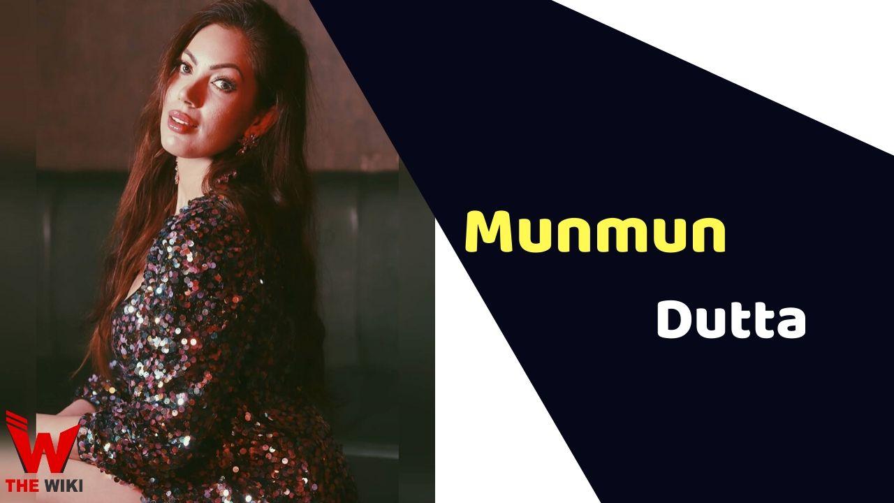 Munmun Dutta (Actress)