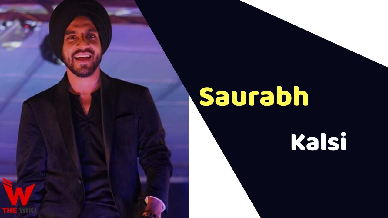 Saurabh Kalsi (Singer and Music Director)