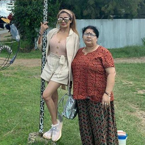 Tina Datta's Mother