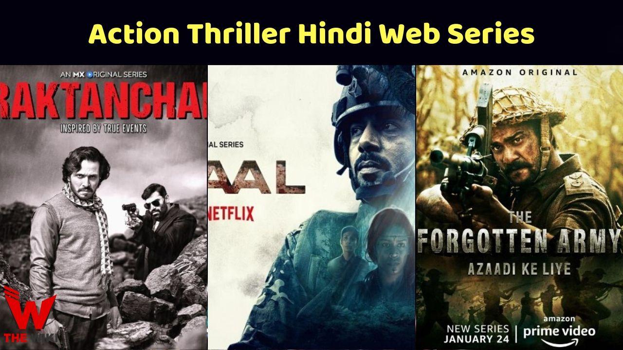Action Thriller Hindi Web Series