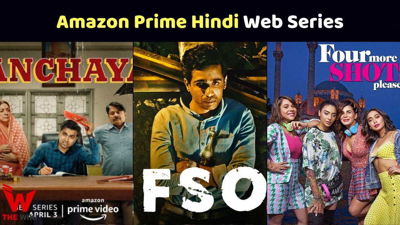 Amazon Prime Video Web Series 2020