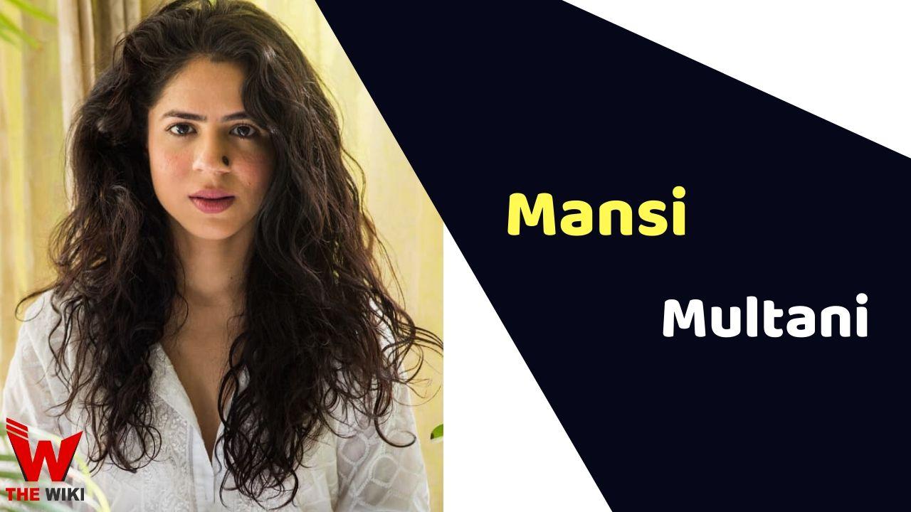 Mansi Multani (Actress)