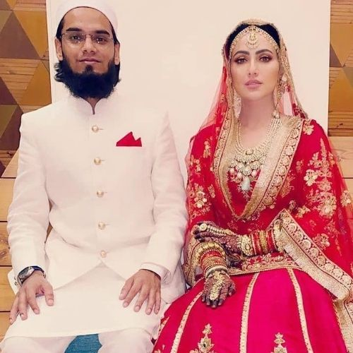Mufti Anas and Sana Khan
