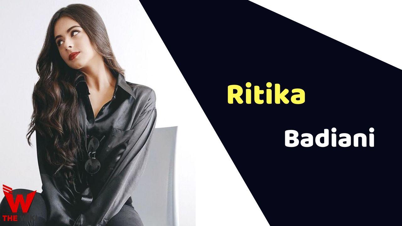 Ritika Badiani (Actress)