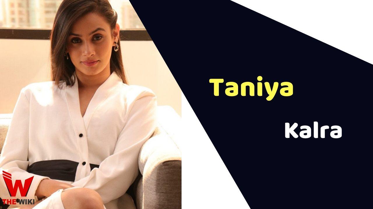 Taniya Kalra (Actress)