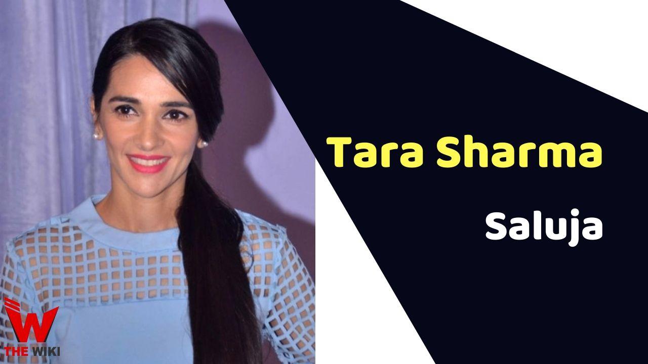 Tara Sharma Saluja (Actress)