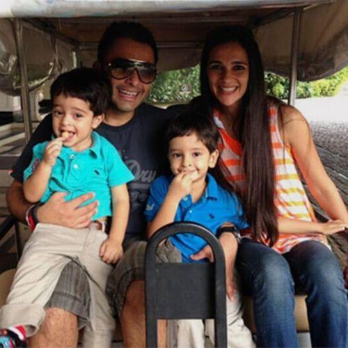 Tara Sharma Saluja Family
