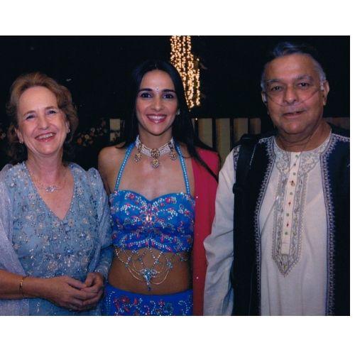 Tara Sharma Saluja Parents