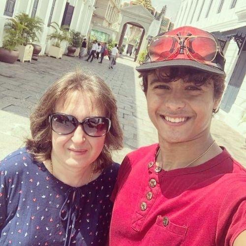 Ansh Sinha Mother