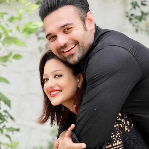 Madalsa Sharma and Mimoh Chakraborty