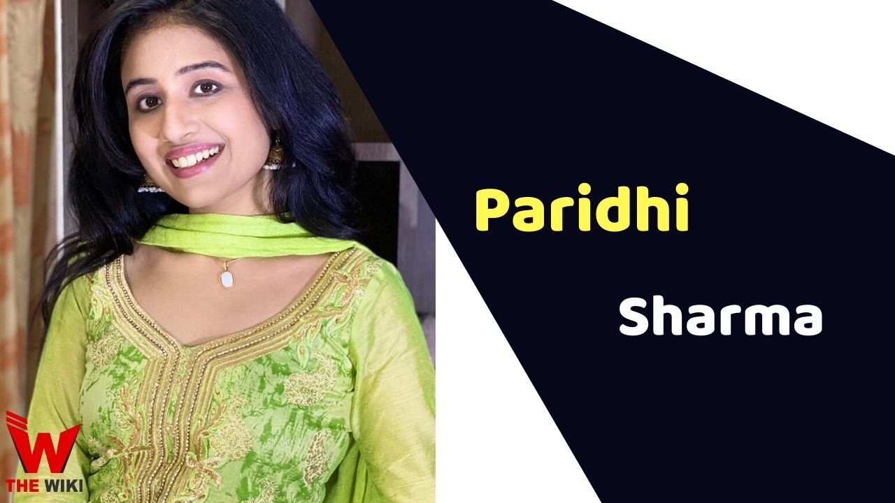 Paridhi Sharma (Actress)
