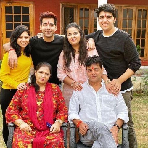 Rishi Dev Family