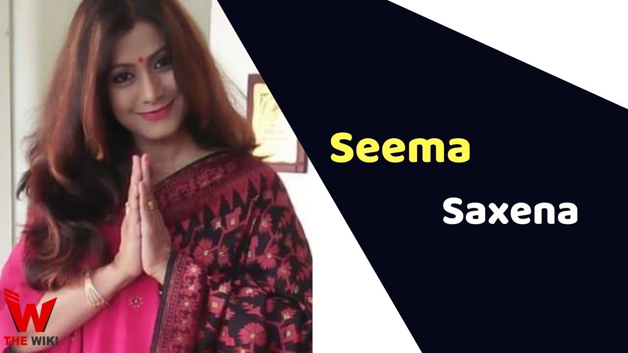Seema Saxena (Actress)