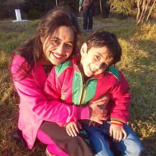 Yagya Bhasin Mother