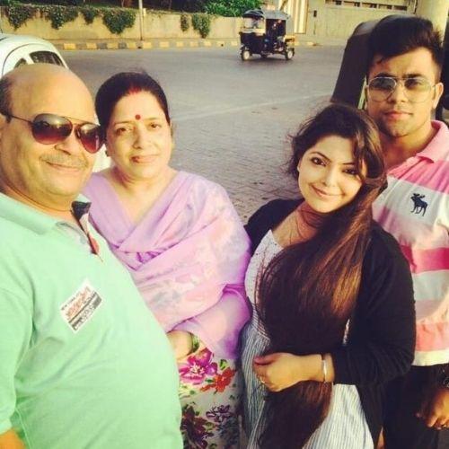 Divya Bhatnagar Family