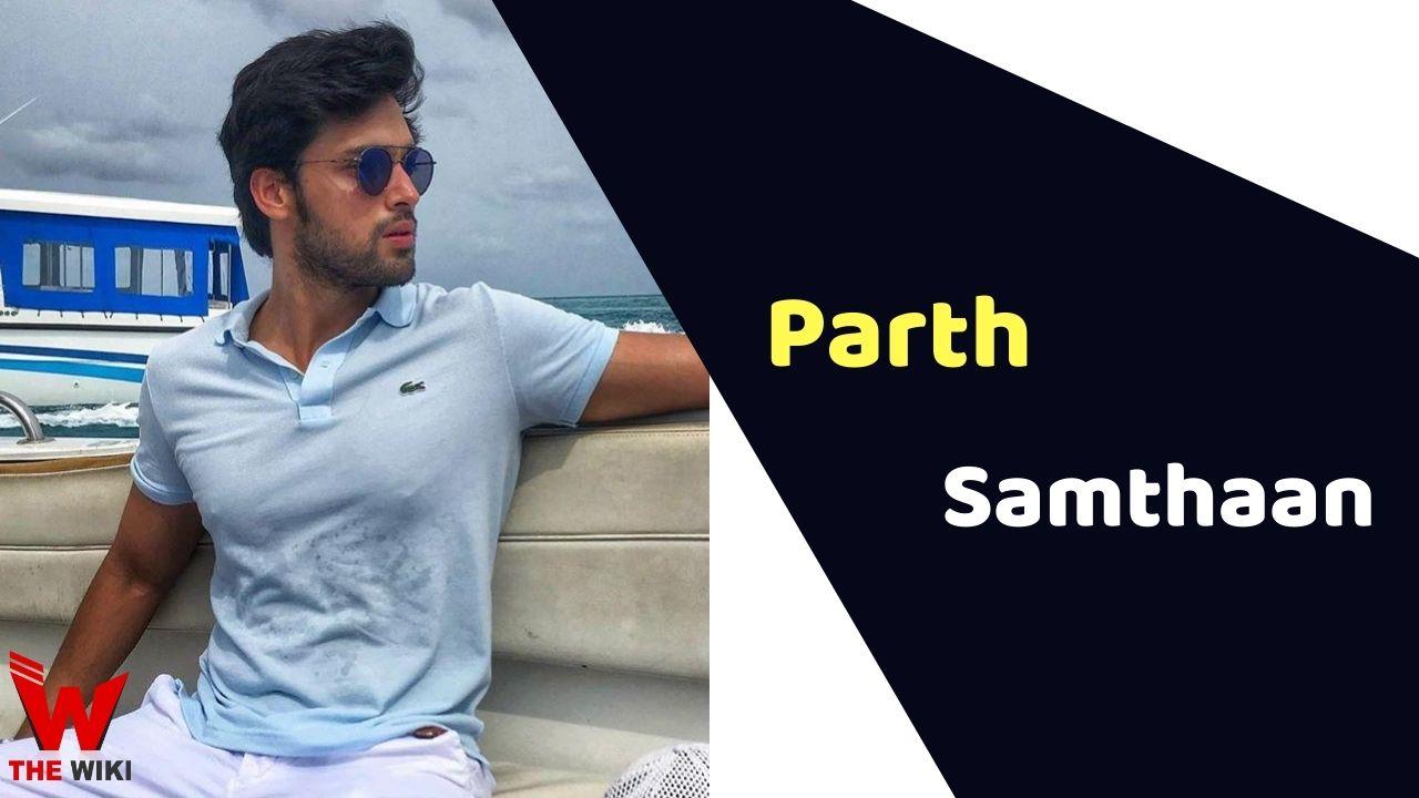 Parth Samthaan (Actor)