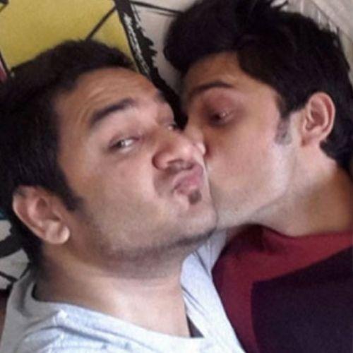 Parth Samthaan and Vikas Gupta