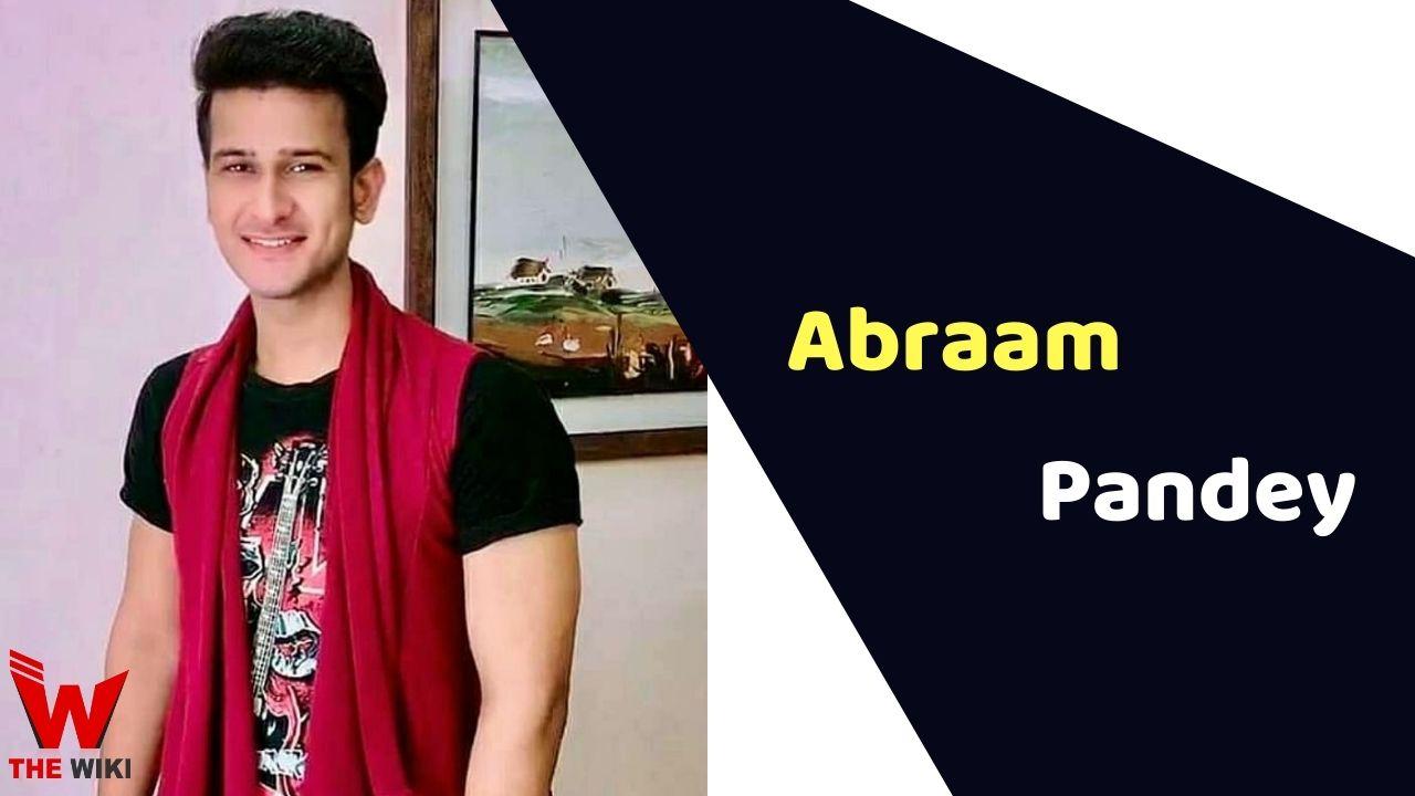 Abraam Pandey (Actor)