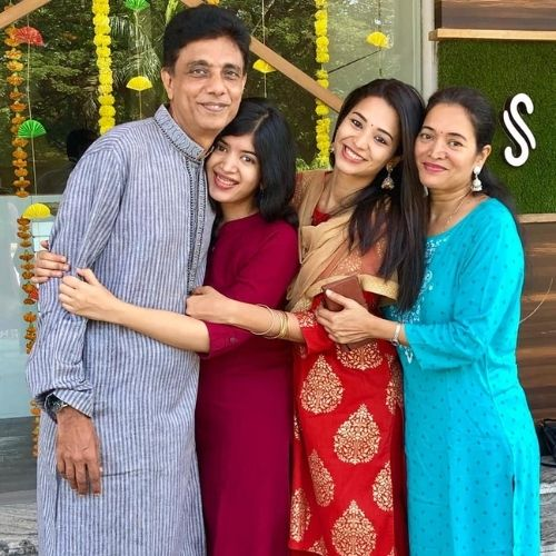 Anjali Barot Family