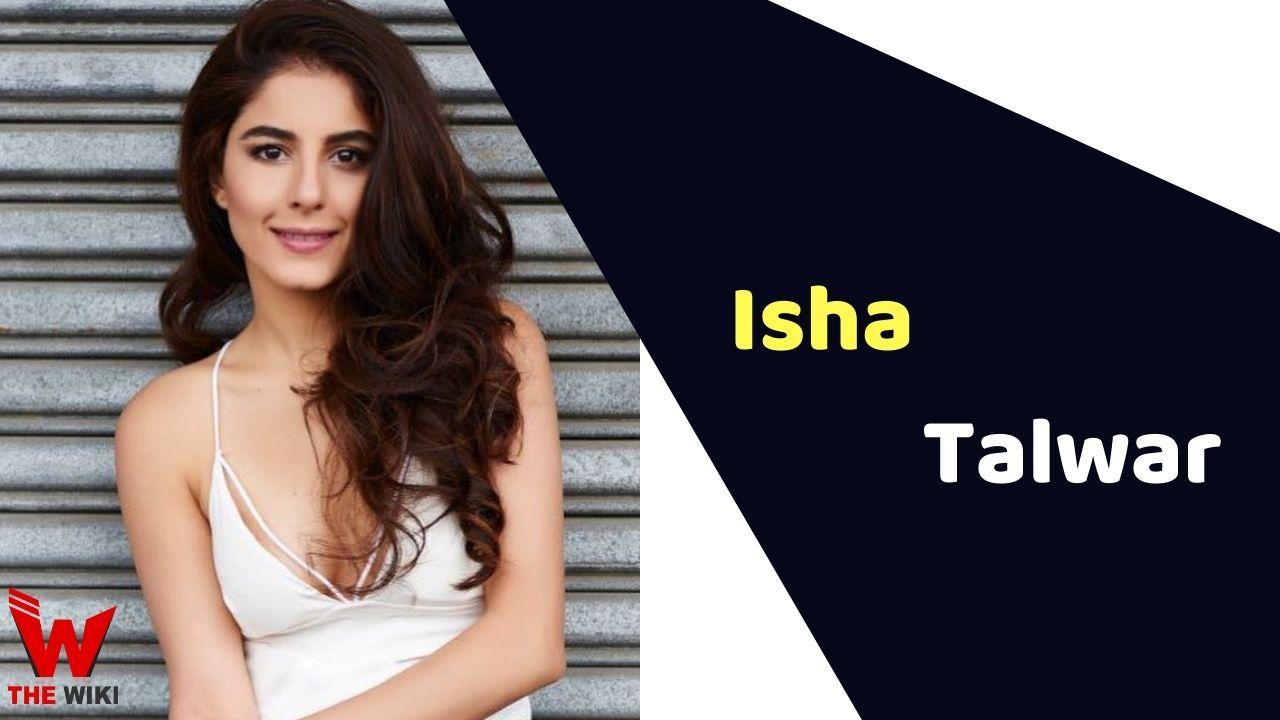 Isha Talwar (Actress)
