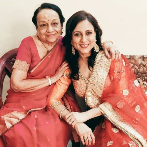 Kishori Shahane Mother