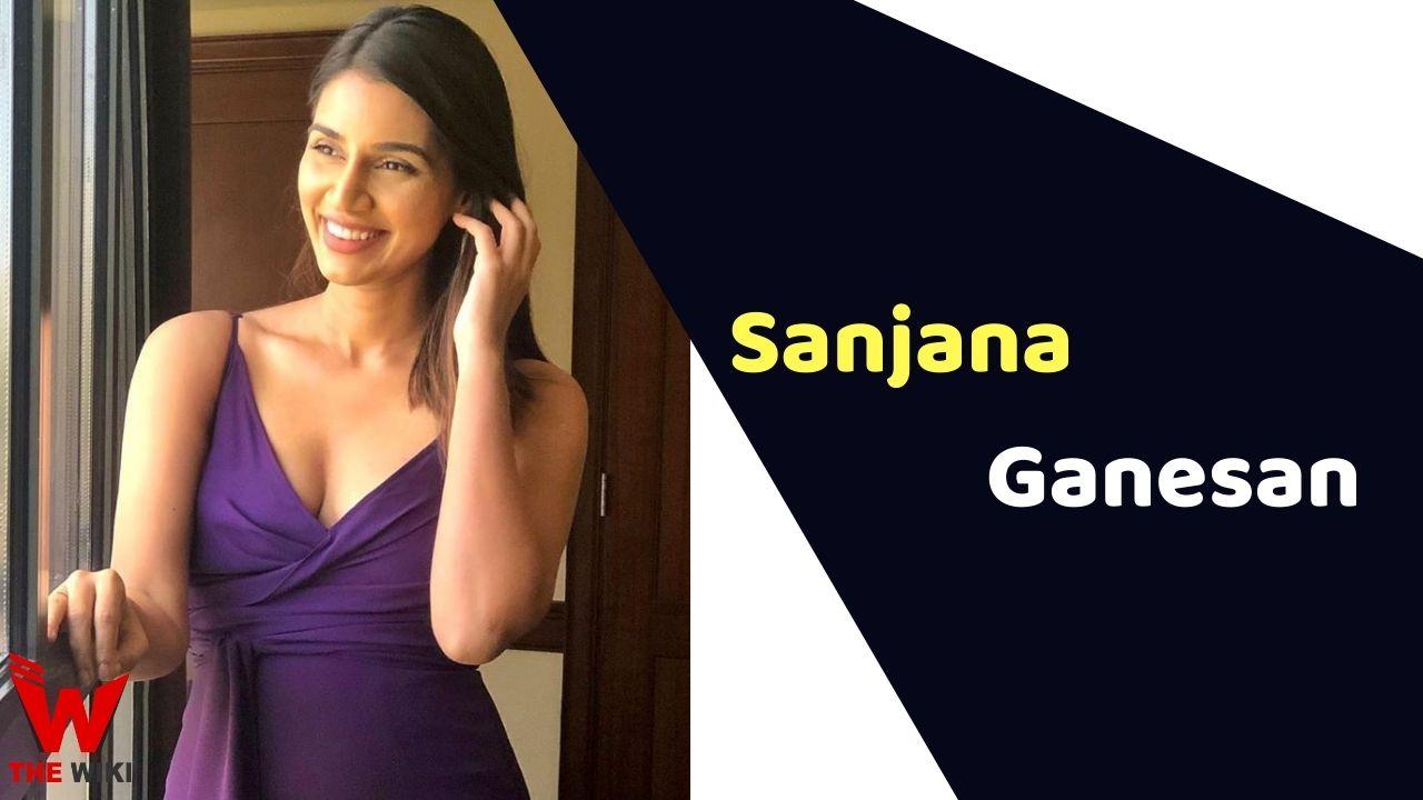 Sanjana Ganesan (Sports Anchor)