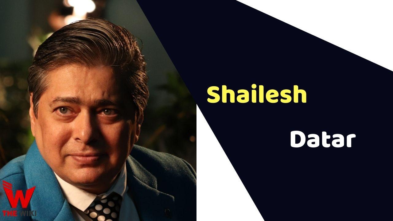 Shailesh Datar (Actor)
