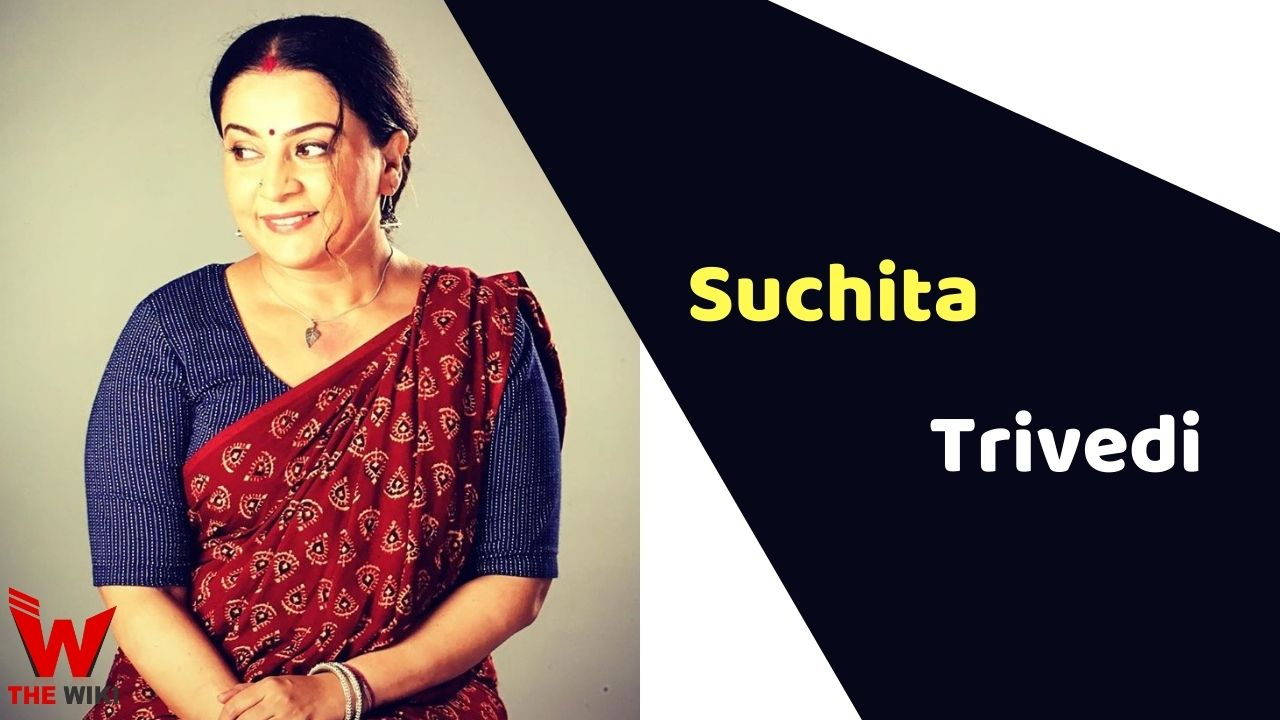 Suchita Trivedi (Actress)