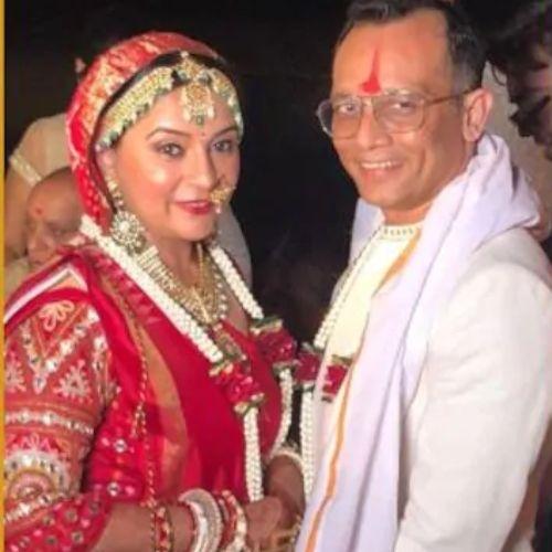 Suchita Trivedi Marriage Photo