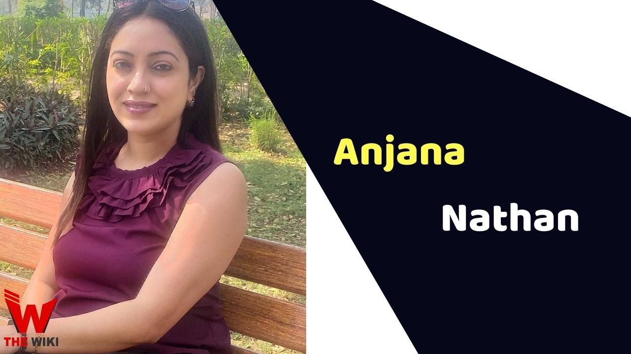Anjana Nathan (Actress)