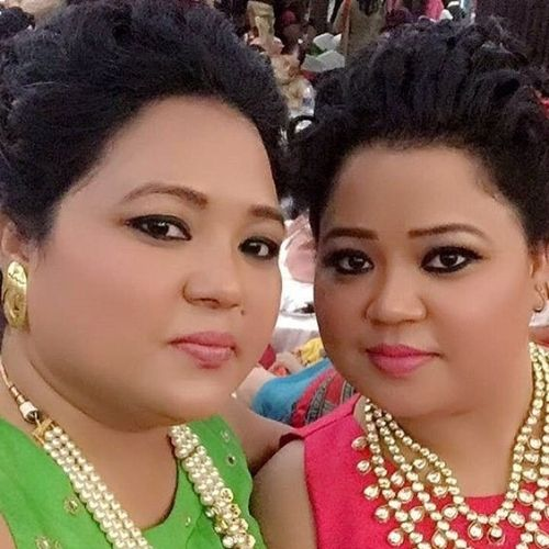 Bharti Singh with sister