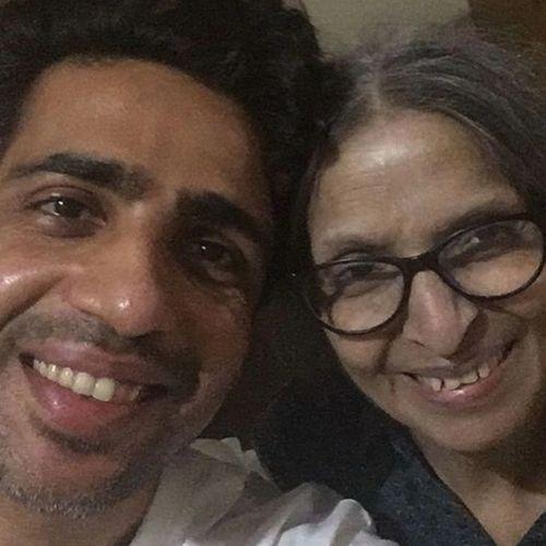 Gulshan Devaiah with Mother