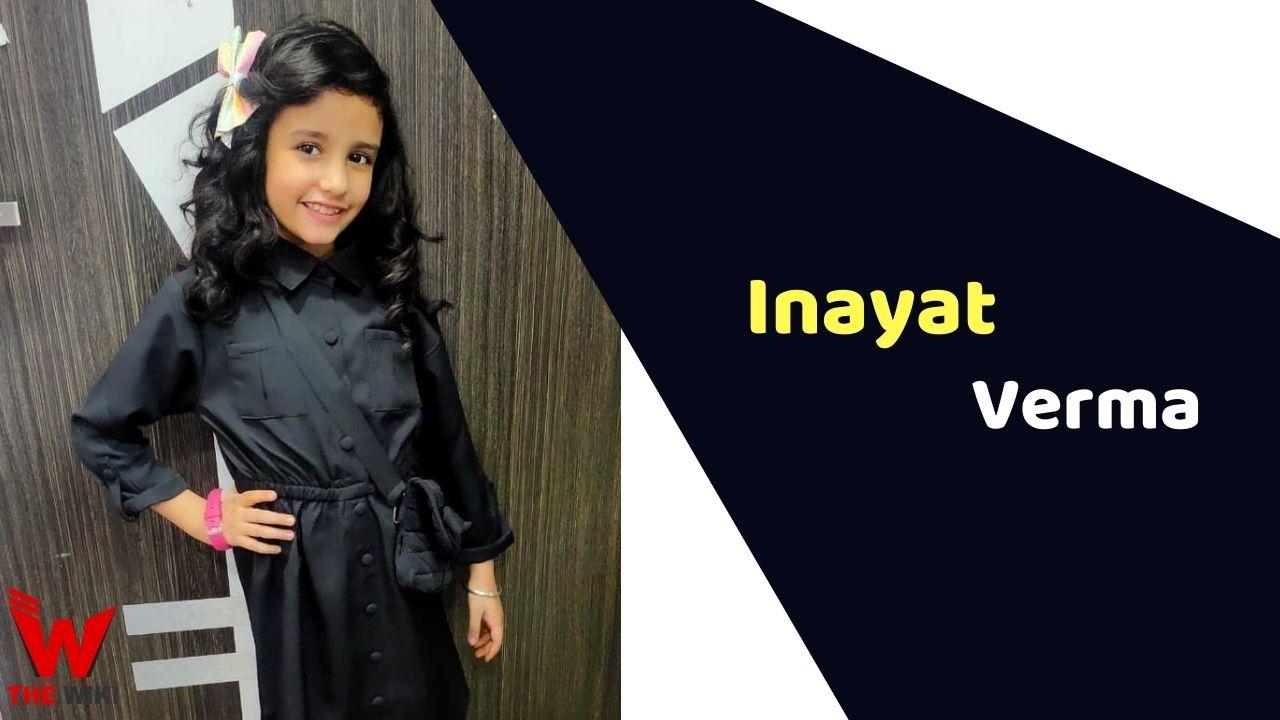 Inayat Verma (Child Actor)