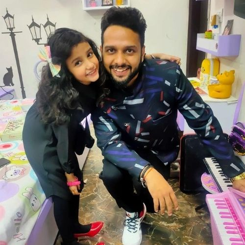 Inayat Verma with Father (Mohit Verma)