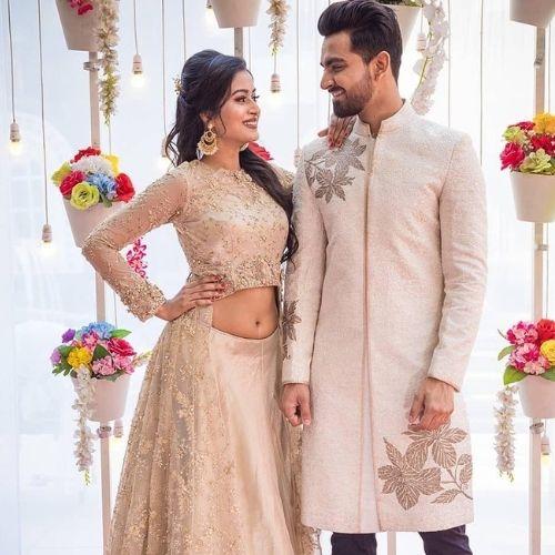 Manisha Saxena with Boyfriend (Vishal Malhotra)