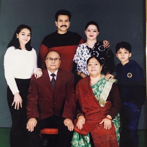 Mridul Kumar Sinha family