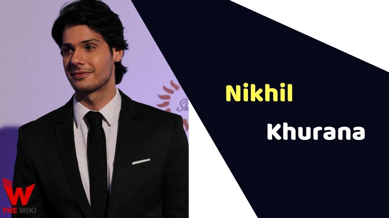 Nikhil Khurana (Actor)