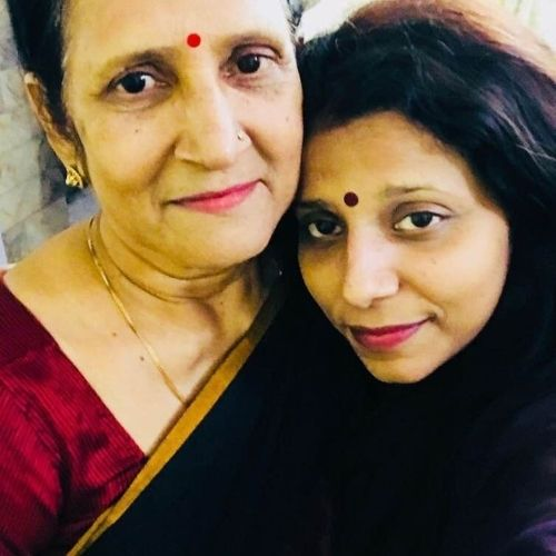 Yogendra Vikram Singh mother and sister
