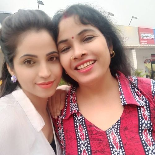 Anupama Solanki with Mother