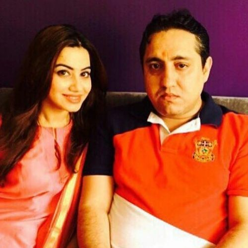 Hritiqa Chheber with Brother