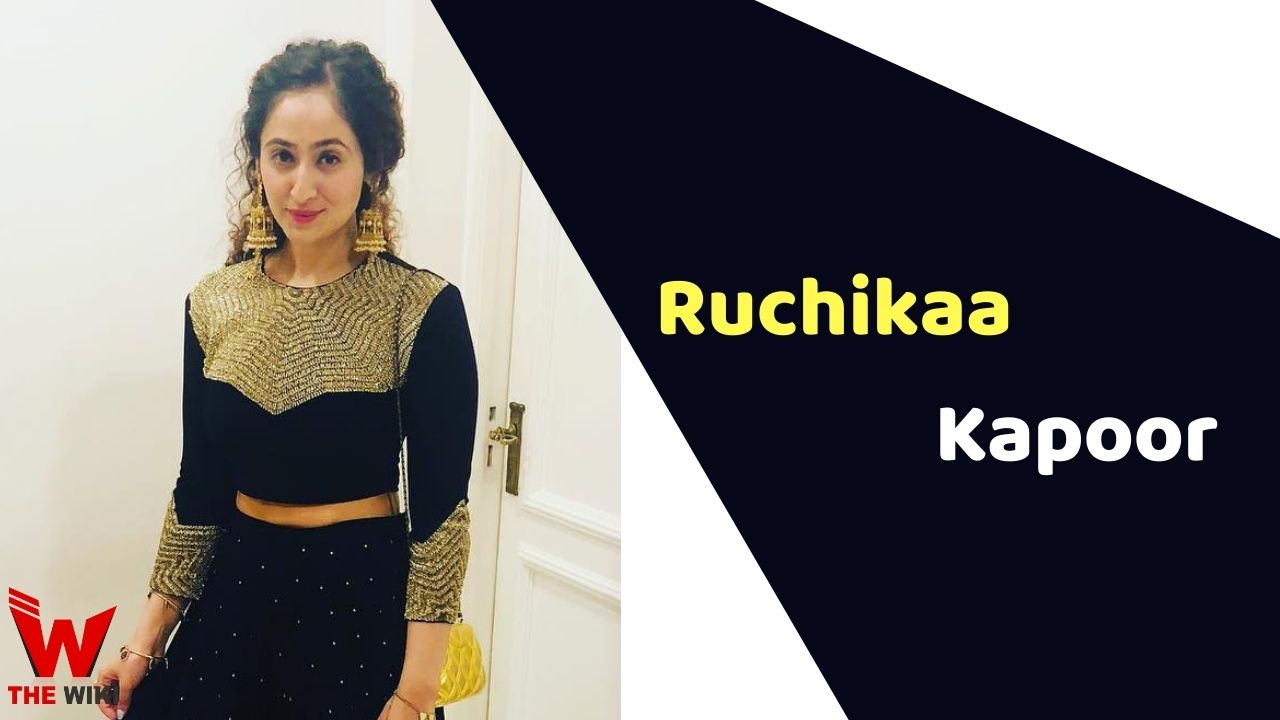 Ruchikaa Kapoor (Producer)
