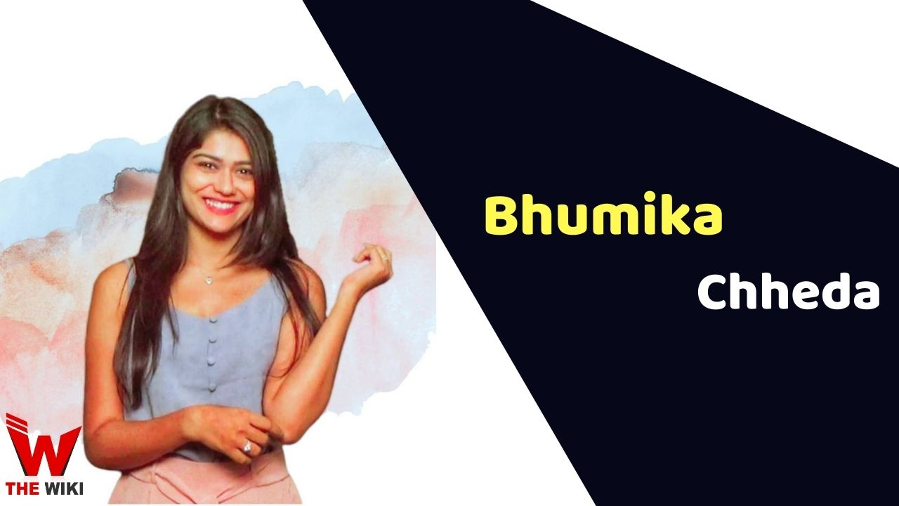Bhumika Chheda (Actress)