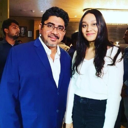 Rajan Shahi with Daughter