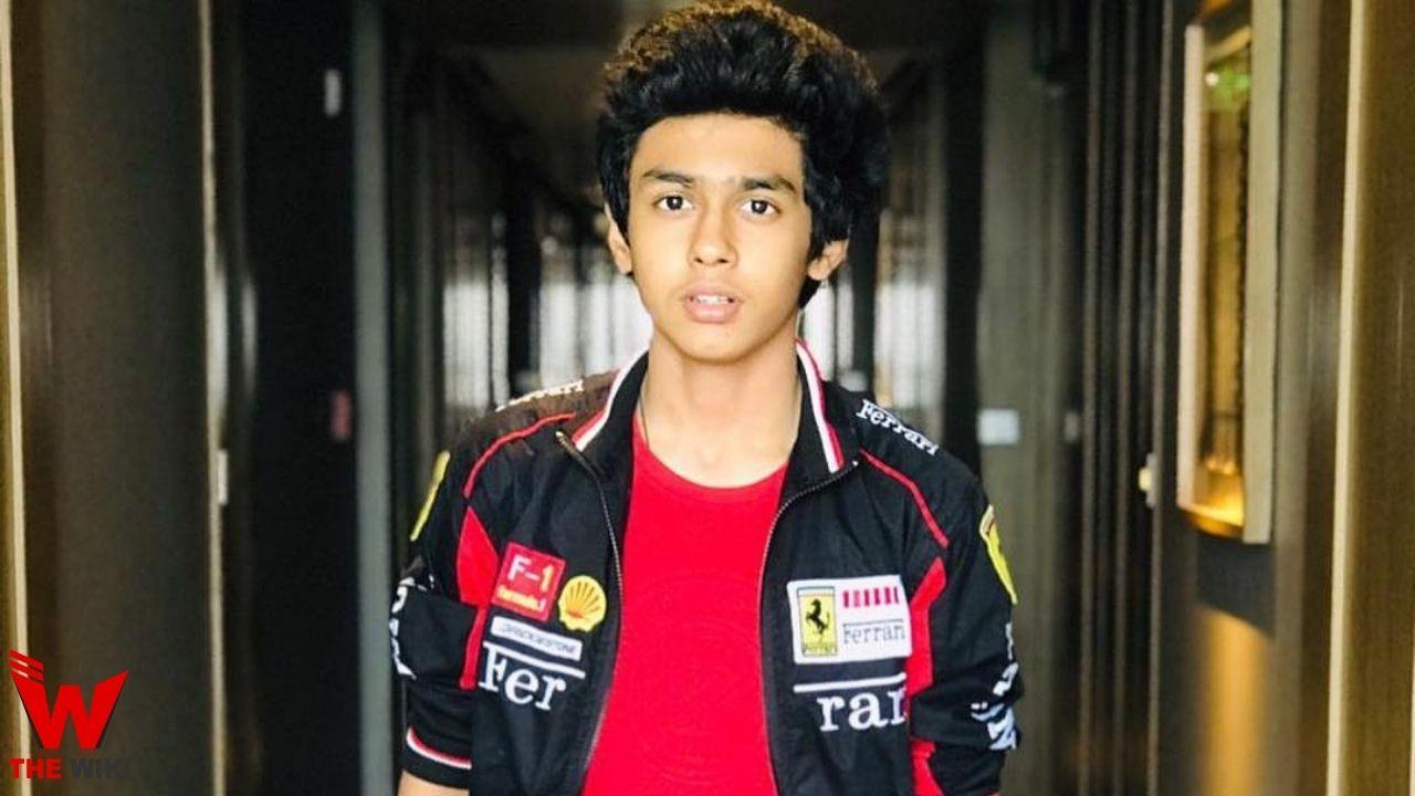 Rudhraksh Jaiswal (Actor)