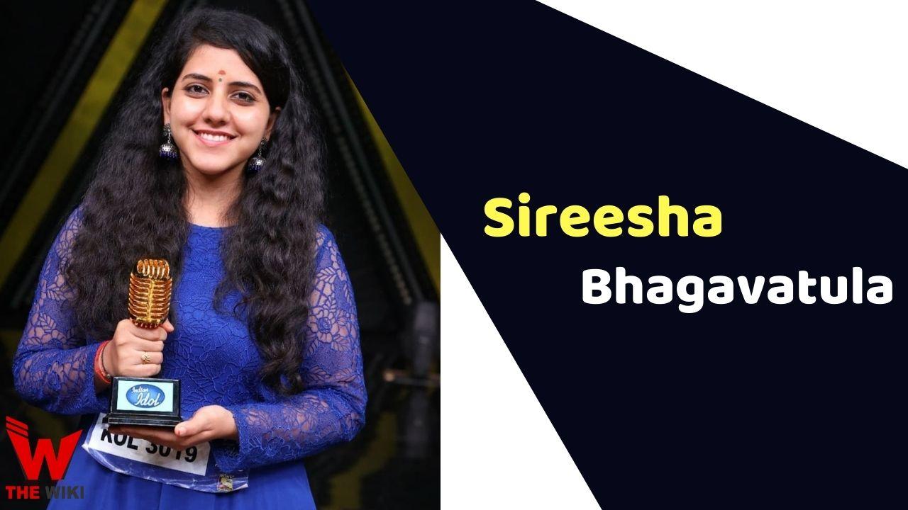 Sireesha Bhagavatula (Indian Idol)