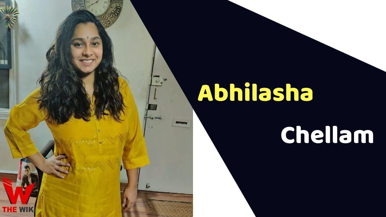 Abhilasha Chellam (Singer)