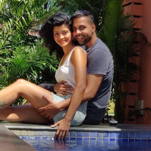 Abhishek Banerjee and Tina Noronha