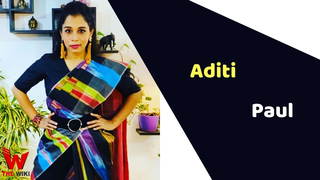 Aditi Paul (Singer)
